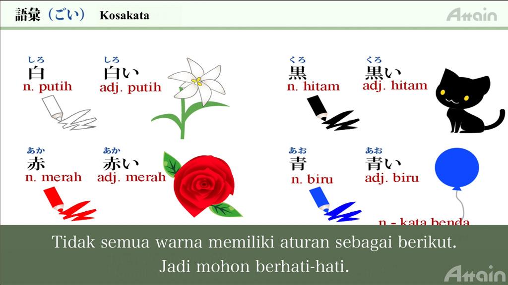日本語能力試験対策コース見放題 インドネシア語字幕版